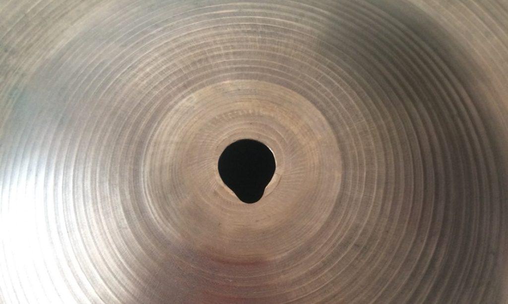 keyholed cymbal